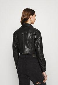 ONLY - ONLWESTA  - Faux leather jacket - black - 2