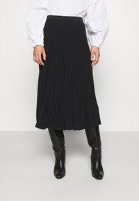 ARKET - MAXI SKIRT - A-line skirt - black dark - 0