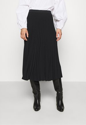 MAXI SKIRT - A-Linien-Rock - black dark