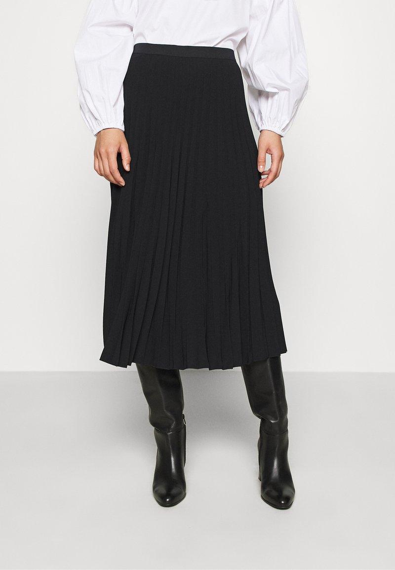 ARKET - MAXI SKIRT - A-line skirt - black dark