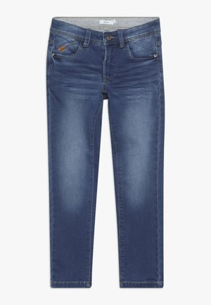 NKMBABU PANT - Straight leg jeans - medium blue denim