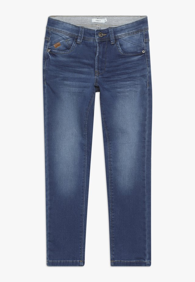 NKMBABU PANT - Jean droit - medium blue denim