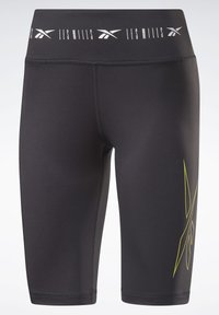 Reebok - LES MILLS® BIKE SHORTS - kurze Sporthose - black - 7