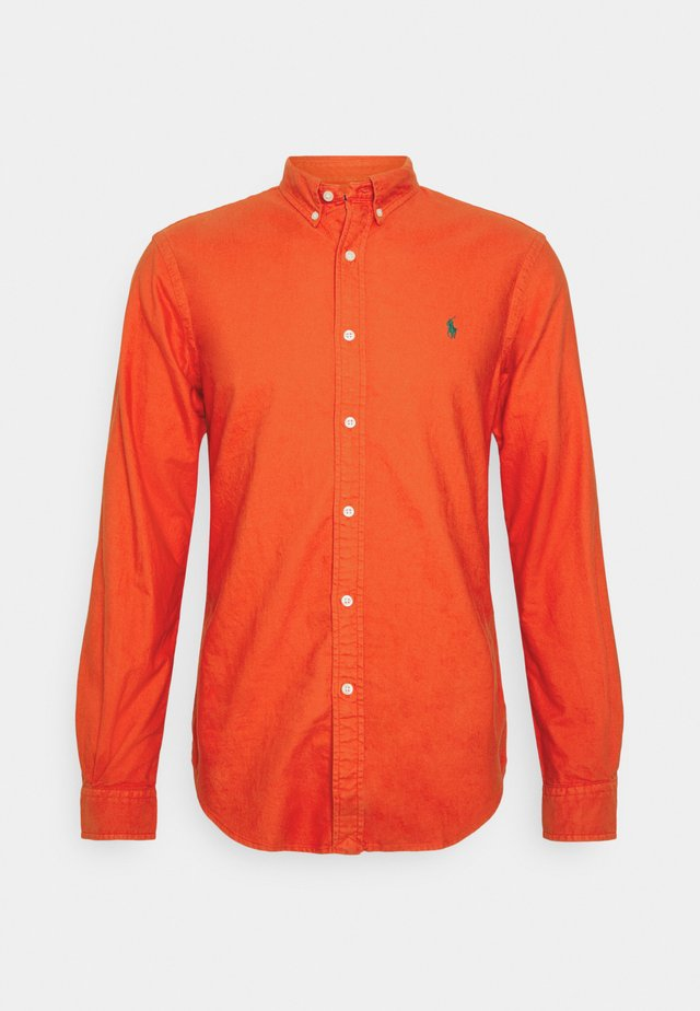 OXFORD - Shirt - orangey red