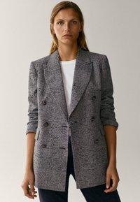 Massimo Dutti - Short coat - grey - 0