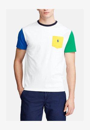 POLO RALPH LAUREN HERREN T-SHIRT - T-Shirt print - weiss (10)