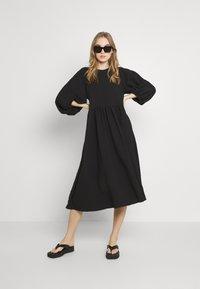 Gina Tricot - HILMA DRESS - Day dress - black - 1