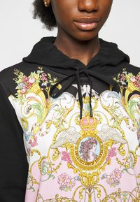 Versace Jeans Couture - LADY LIGHT - Mikina - black/pink confetti - 6