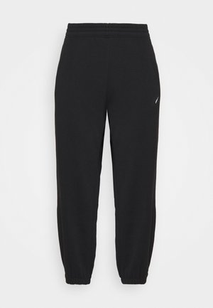 PANT TREND PLUS - Tracksuit bottoms - black/white