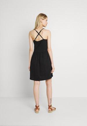 VMADAREBECCA SHORT DRESS  - Day dress - black