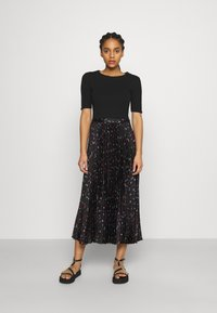 maje - Maxi dress - black - 0