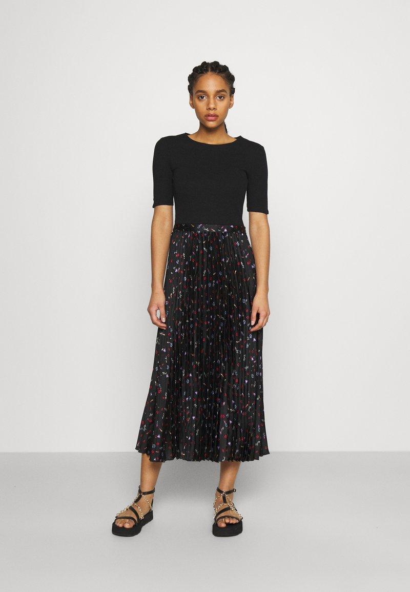 maje - Maxi dress - black