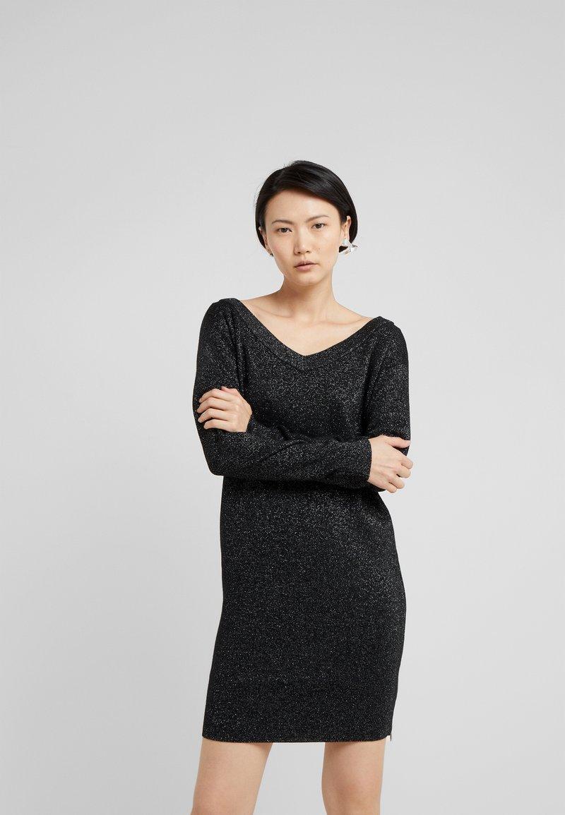 HUGO - SIRELI - Sukienka dzianinowa - black