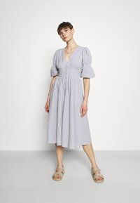 YAS - YASCAMA MIDI DRESS - Shirt dress - dusk blue - 0