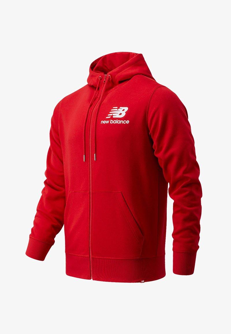 New Balance - Zip-up hoodie - rot