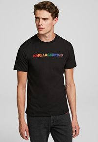 KARL LAGERFELD - T-shirt imprimé - black - 1