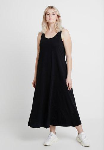 VMINA DRESS - Jersey dress - black