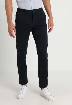 CORE STRAIGHT FLEX - Chinos - blue