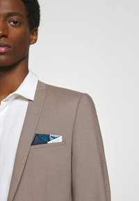 Burton Menswear London - 4 WAY POCKET SQUARE - Pocket square - navy - 0