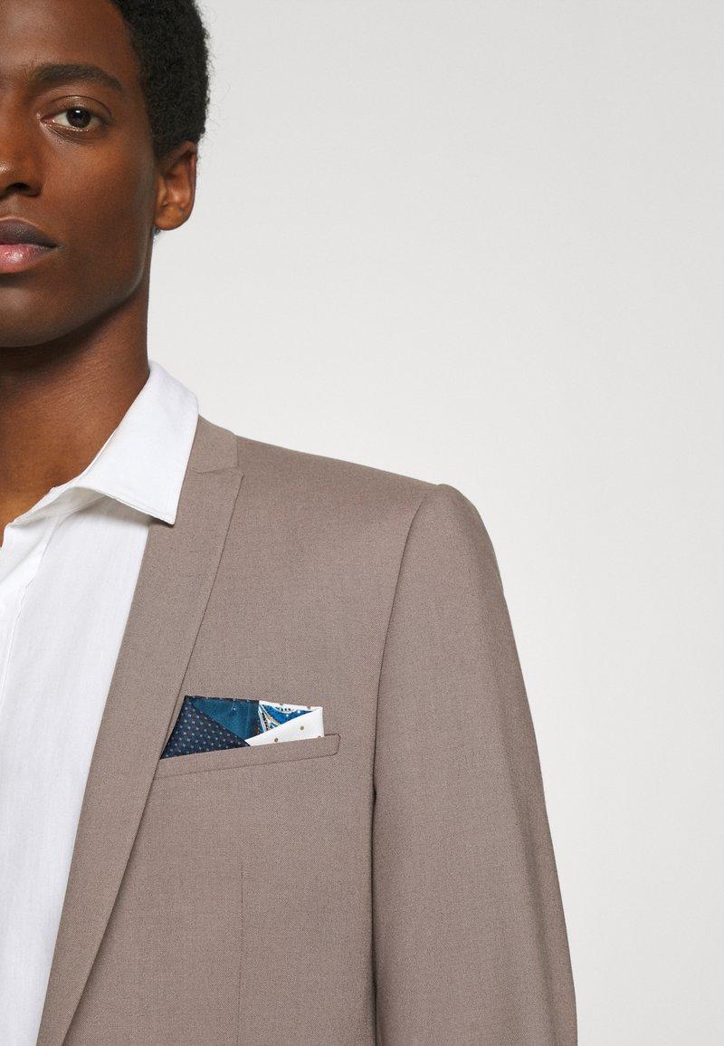 Burton Menswear London - 4 WAY POCKET SQUARE - Pocket square - navy