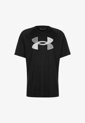BIG - Print T-shirt - black