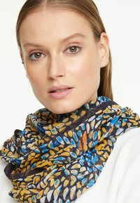 comma - Snood - yellow colorful dots - 1