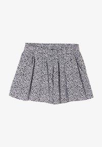 s.Oliver - LOOSE FIT - Shorts - dark blue millefleurs - 0