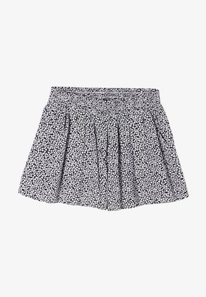 LOOSE FIT - Shorts - dark blue millefleurs