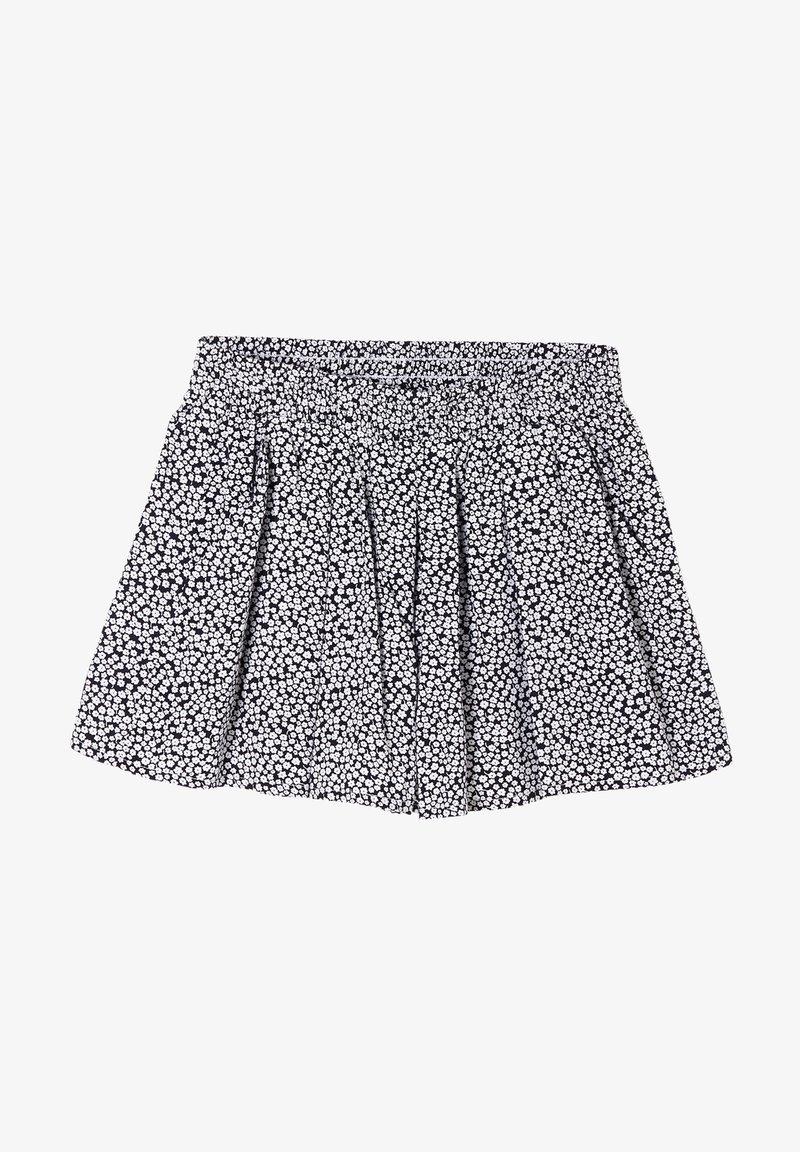 s.Oliver - LOOSE FIT - Shorts - dark blue millefleurs
