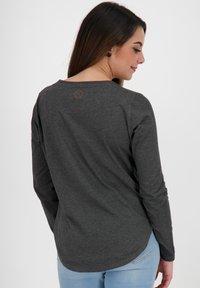 alife & kickin - LEAAKA - Long sleeved top - moonless - 2