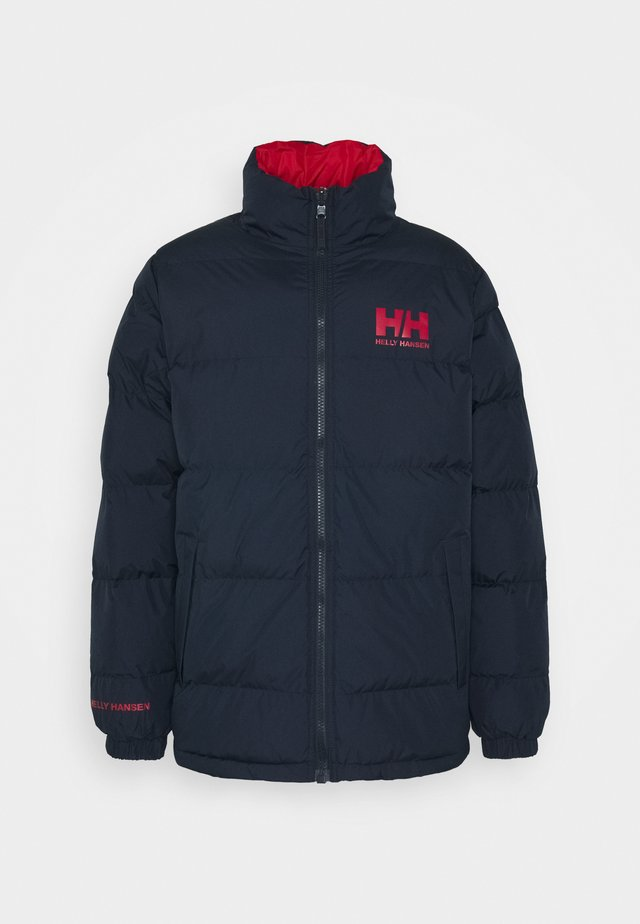 REVERSIBLE PUFFER JACKET - Winterjas - navy