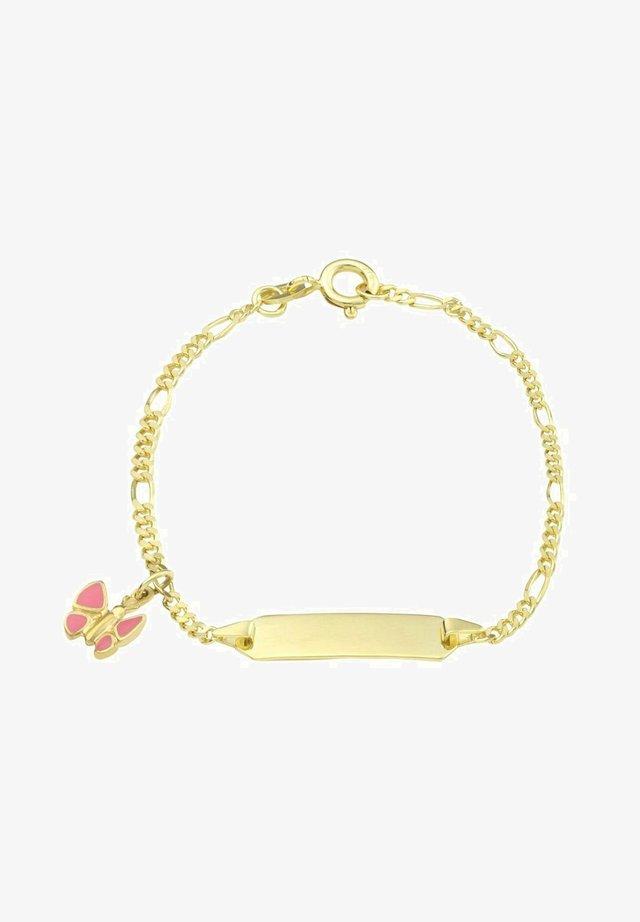 MIT SCHMETTERLING  - Bracelet - rosa
