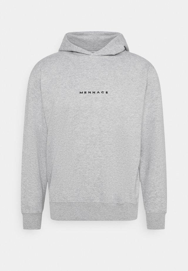 ESSENTIAL REGULAR HOODIE UNISEX - Sweatshirts - grey marl