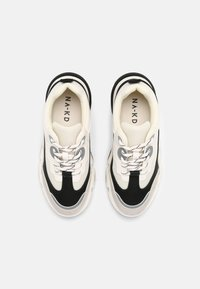 NA-KD - ROUNDED SOLE CHUNKY TRAINERS - Trainers - creme/black - 5