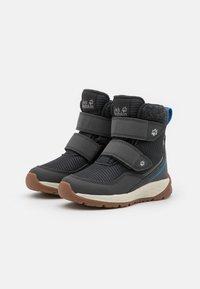 Jack Wolfskin - POLAR BEAR TEXAPORE MID UNISEX - Winter boots - phantom/blue - 1