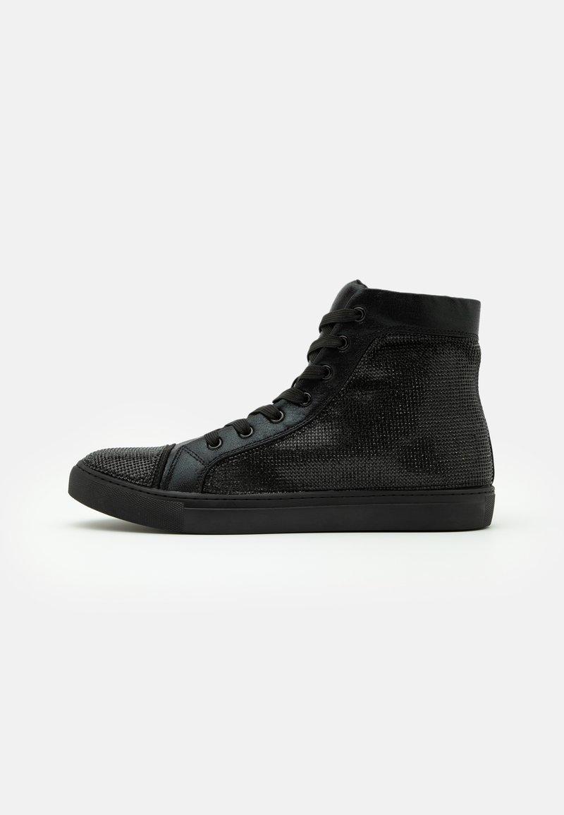 Steve Madden - SPARKLER - Sneakersy wysokie - black