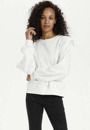 Sweatshirt - chalk