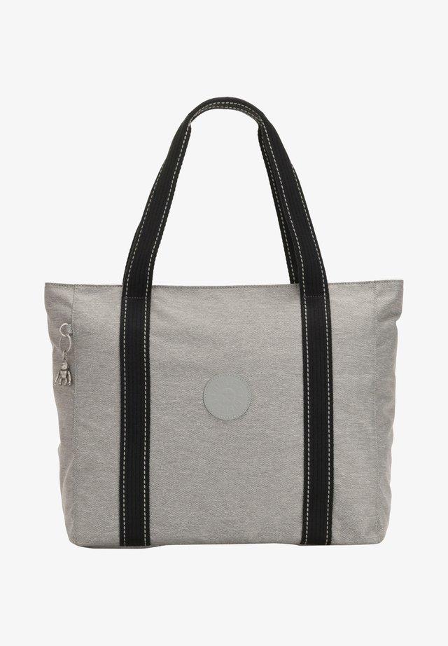 Shopping bag - chalk grey