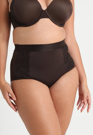 PLUS HIGH WAIST BRIEF - Briefs - semisweet