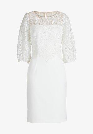 MIT SPITZE - Cocktailkleid/festliches Kleid - ivory white