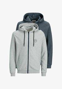 Jack & Jones - 2 PACK - Zip-up sweatshirt - navy blazer - 6