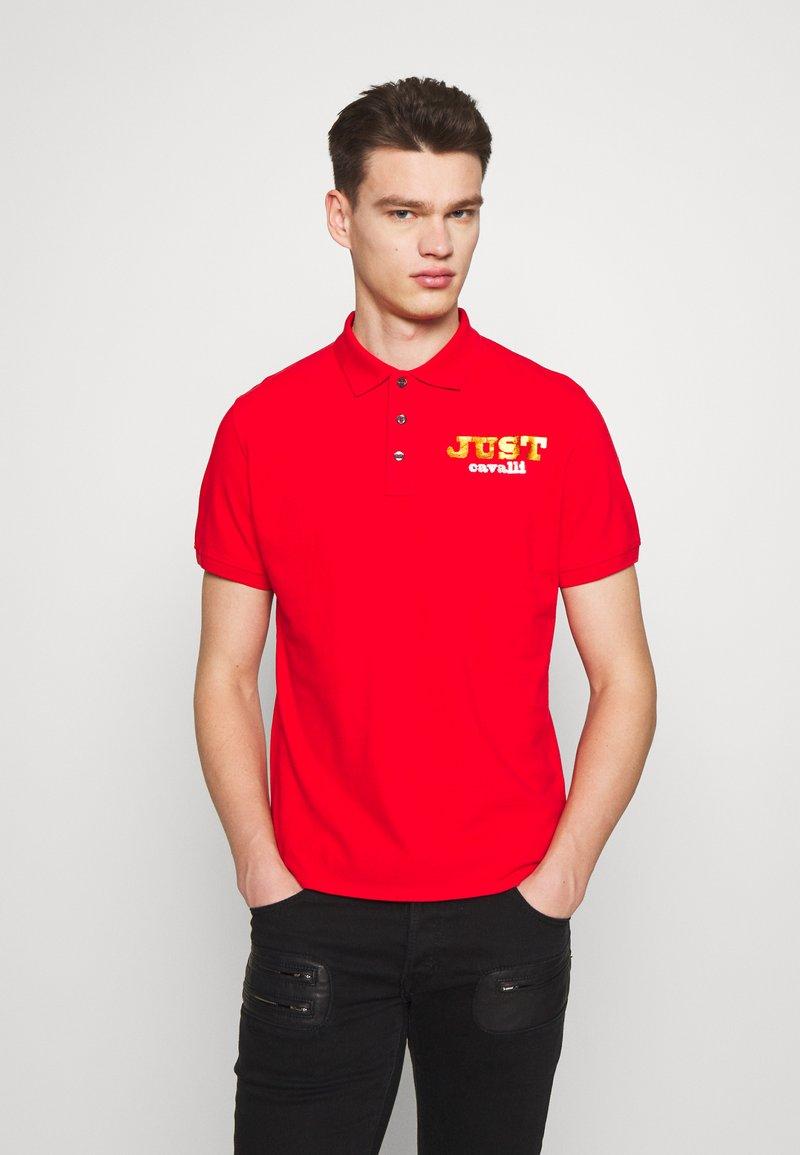 Just Cavalli - LOGO - Polo shirt - red