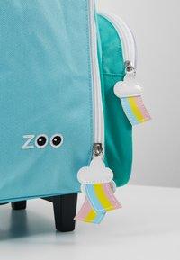 Skip Hop - ZOO UNICORN - Wheeled suitcase - blue - 2