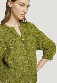 TOM TAILOR - Blouse - green geometrical design - 3