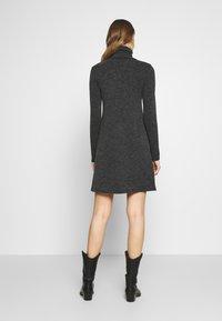 Even&Odd - Jumper dress - mottled grey - 2