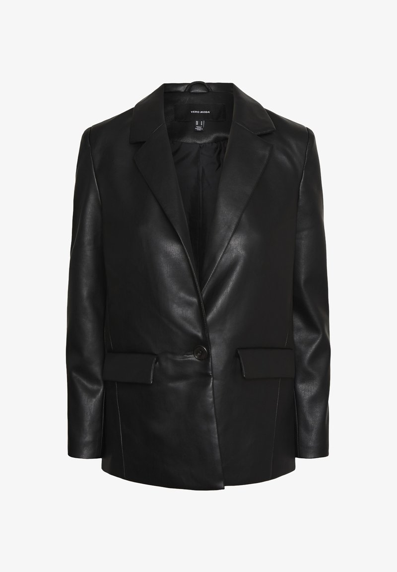 Vero Moda - Leather jacket - black