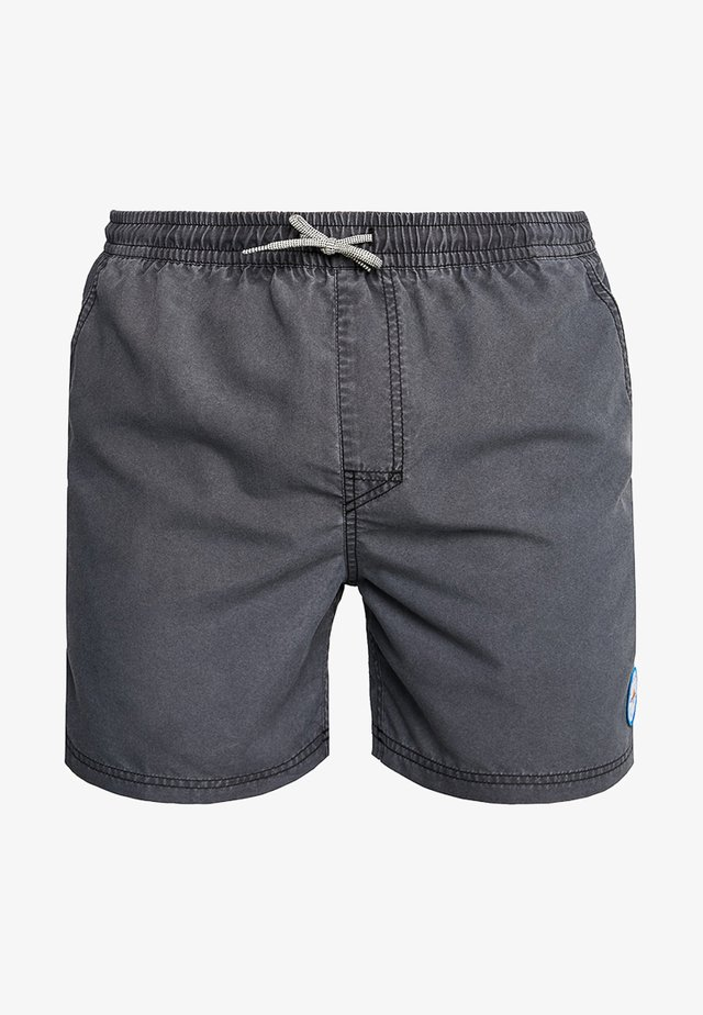 VOLLEY SUNSET SHADES - Zwemshorts - dark grey