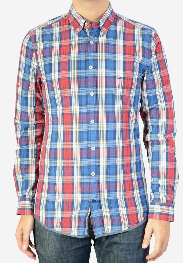 Chemise - red blue