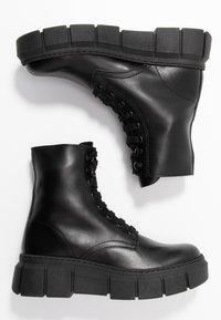Kaltur - LOR - Platform ankle boots - black - 3