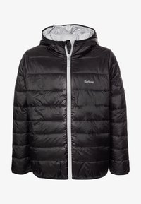 Barbour - BOYS TRAWL QUILT - Lehká bunda - black - 0